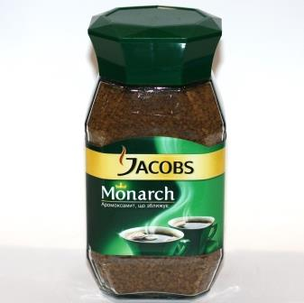 Кофе Jacobs Monarch 0.190кг растворимый с/б